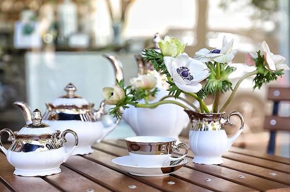 service à thé baroque de Reichenbach